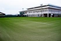 寒河江市市民テニスコート人工芝改修工事