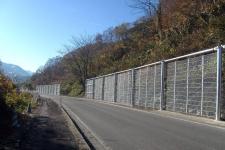 主要地方道大江西川線雪崩予防施設設置工事
