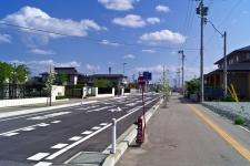 落衣島線道路築造舗装工事