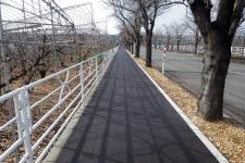 市道石川西洲崎線歩道整備工事